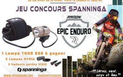 Jeu Concours Spanninga Epic 2019