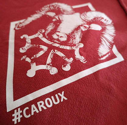 Sweat capuche #caroux