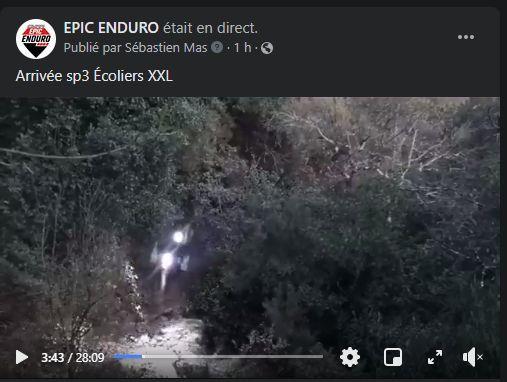 Arrivée sp3 Écoliers XXL