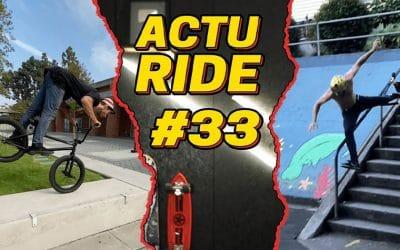 ACTU RIDE, l'émission dédiée à l'actualité glisse et extrême