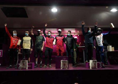 Podium Equipe Epic Enduro 2020