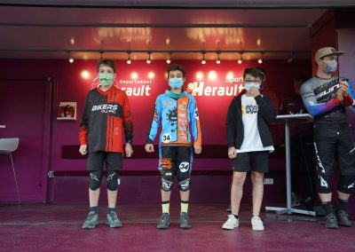 Podium Benjamin Epic Enduro 2020