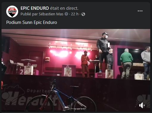 Podium Sunn Epic Enduro 2020